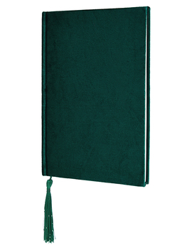 A5 Velvet Notebook by Accessorize