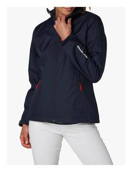 Helly Hansen Crew Midlayer Women's Waterproof Jacket, Navy by Helly Hansen