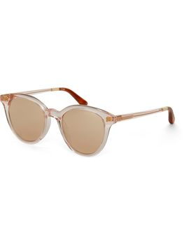 Aaryn Pink Crystal | Champagne Mirrored Lens by Toms