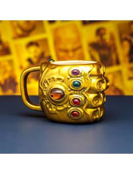 Marvel Avengers Infinity War Gauntlet Shaped Mug by Iwoot