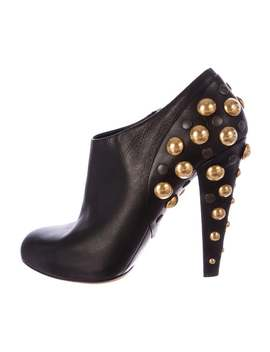Studded Babushka Booties by Gucci