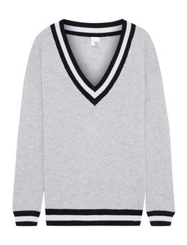 Markus Striped Cashmere Sweater by Iris & Ink