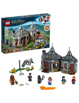 Lego Harry Potter Hagrid's Hut: Buckbeak's Rescue 75947 Toy Hut Harry Potter Gift 496pc by Lego