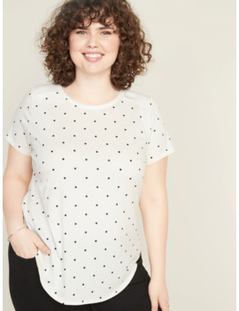 Satin Back Plus Size Jersey Top by Old Navy