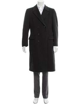 Wool Double Breasted Coat by Givenchy