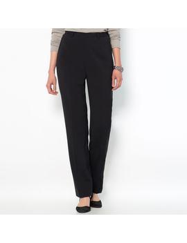 Pantalon Ville Droit, Polyviscose élasthanne by Anne Weyburn