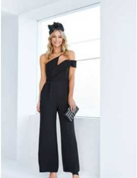 Elora Asymmetric Neckline Jumpsuit by Forever New