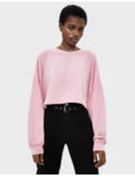 Puff Sleeve Cropped T Shirt by Bershka