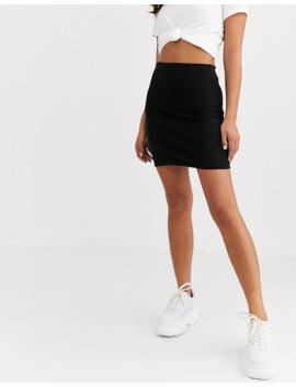Asos Design Seamed Super Mini Bodycon Skirt by Asos Design