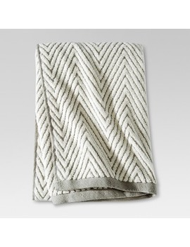 Chevron Textured Bath Towels   Threshold™ by Shop Collections
