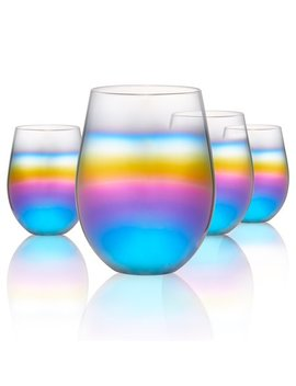 Rainbow Stemless S/4, 18 Oz by Artland