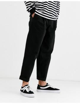 Pantalones Estilo Globo En Negro De Asos Design by Asos Design