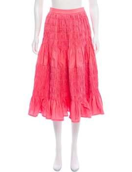 Pleated Midi Skirt W/ Tags by Molly Goddard
