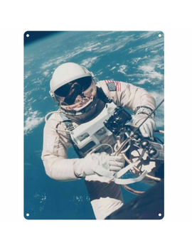 Nasa Astronaut Tin Sign   Large by Iwoot