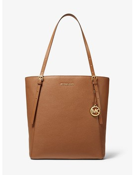 Megan Large Pebbled Leather Tote Bag by Michael Michael Kors