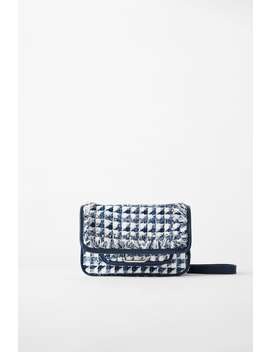Tweed Rock Crossbody Bag by Zara