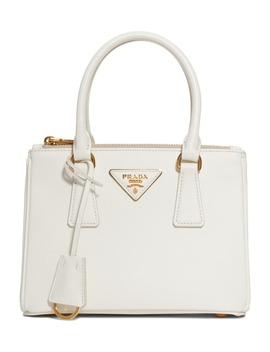 Mini Galleria Saffiano Leather Satchel by Prada