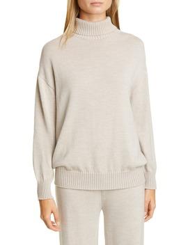 Certo Virgin Wool Turtleneck Sweater by Max Mara