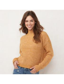 Women's Lc Lauren Conrad Funnelneck Sweater by Lc Lauren Conrad