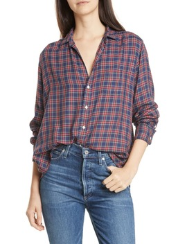 Plaid Button Up Shirt by Frank & Eileen