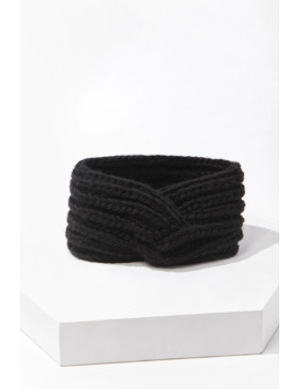 Twisted Ribbed Headwrap by Forever 21