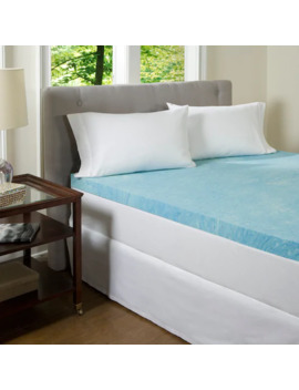 Comfor Pedic Beautyrest 2 Inch Gel Memory Foam Mattress Topper by Beautyrest