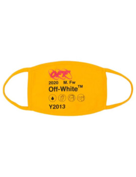 Logo Print Mask by Off White