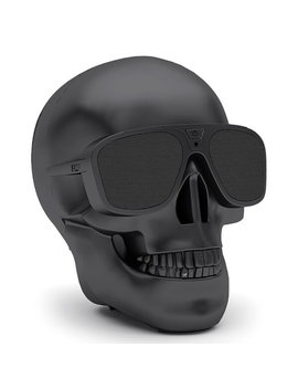 Jarre Aero Skull Xs + Bluetooth Portable Speaker   Matt Black by Iwoot