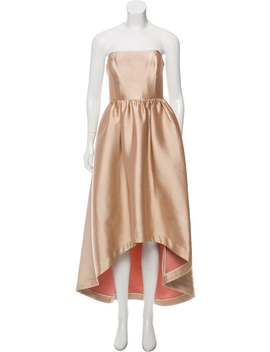 Satin Midi Gown by Co.