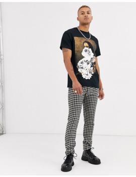 Reclaimed Vintage – Oversize T Shirt Mit Mona Lisa Print by Asos