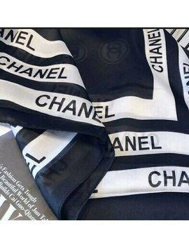<Span><Span>Chanel Shawl Black & White</Span></Span> by Ebay Seller