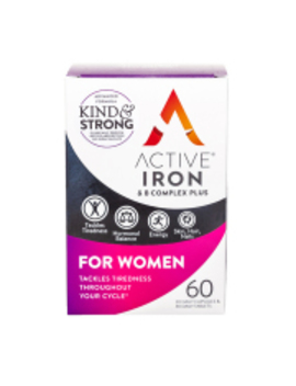 Active Iron & B Complex For Women 60 Capsules by Active Iron & B Complex For Women 60 Capsules