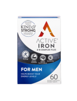 Active Iron & B Complex For Men 60 Capsules by Active Iron & B Complex For Men 60 Capsules