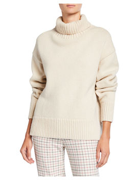 Lunet Lambs Wool Turtleneck Sweater by Rag & Bone