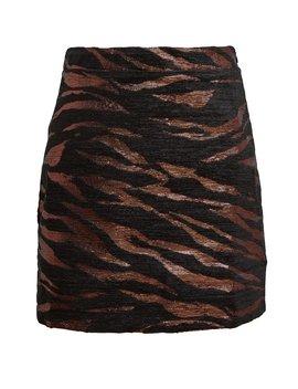 Bertha Zebra Jacquard Mini Skirt Bertha Zebra Jacquard Mini Skirt by Andamane Andamane