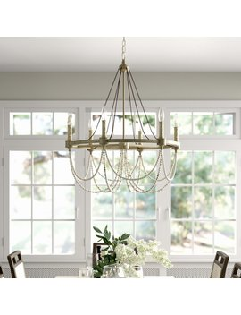 Darlene 6 Light Candle Style Chandelier by Birch Lane