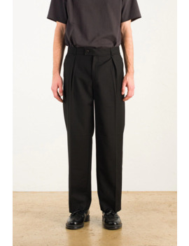 Menswear | Howard Trousers, Black by Olive