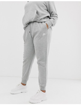 Nike Plus Grey Essentials Joggers by Nike