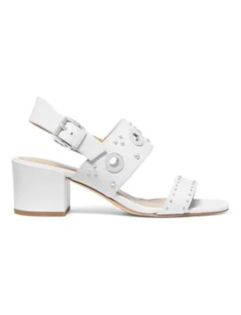 Caldwell Gryle Leather Heeled Sandals by Michael Michael Kors