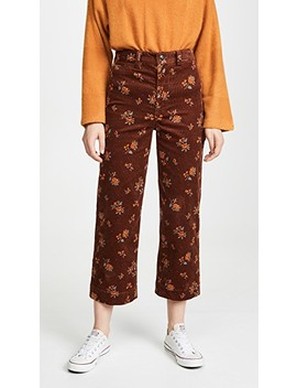 Button Front Emmett Pants by Madewell