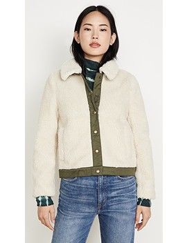 Updated Sherpa Portland Jacket by Madewell