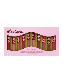 Best Sellers 10 Piece Mini Velvetines Set by Lime Crime