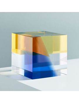 Crystal Cube Object by West Elm