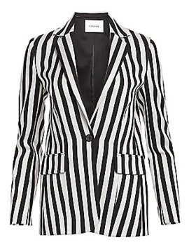 Striped Blazer by Frame