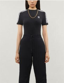 Trefoil Slim Fit Stretch Cotton Body by Adidas Originals
