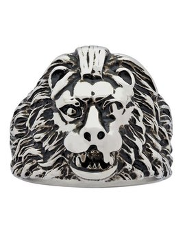 Revere Men's Stainless Steel Lion Ring706/0799 by Argos