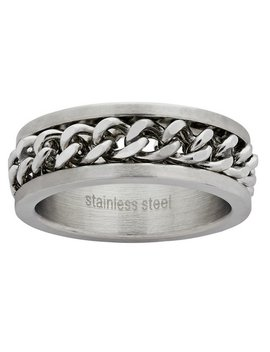 Revere Men's Stainless Steel Chain Ring703/0451 by Argos