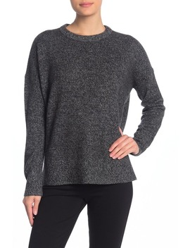 Relaxed Drop Shoulder Cashmere Sweater by Theory