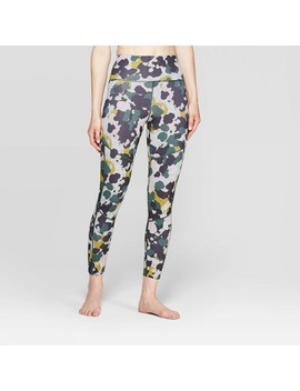 Women's Camo Print 7/8 High Waisted Leggings   Joy Lab™ Print Camo by Joy Lab