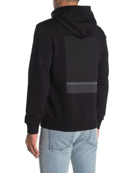 Cure Fleece Colorfield Hoodie by Theory